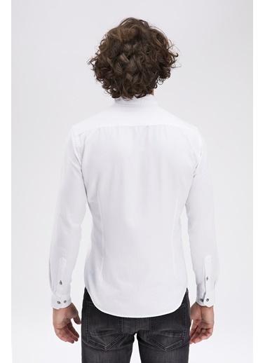 Avva Slim Fit Gömlek Beyaz